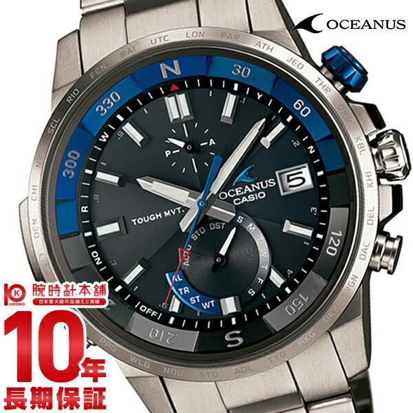 カシオ オシアナス OCEANUS カシャロ 電波ソーラー OCW-P1000-1AJF [正規品] メンズ 腕時計 時計【36回金利0%】 クリスマスプレゼント(予約受付中)