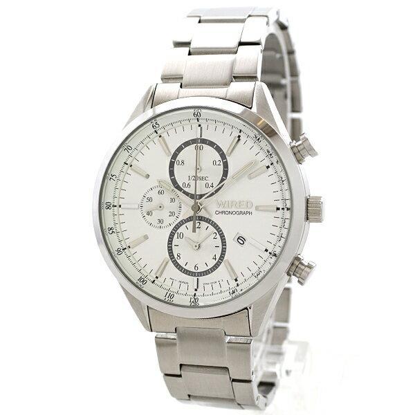 セイコー ワイアード WIRED ニュースタンダード 100m防水 AGAV108 [国内正規品] メンズ 腕時計 時計 [10年長期保証付][送料無料][腕時計ケア用品 マルチクロス付][ギフト用ラッピング袋付]