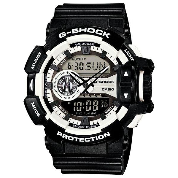 カシオ Gショック G-SHOCK ハイパーカラーズ GA-400-1AJF [国内正規品] メンズ 腕時計 時計 [10年長期保証付][送料無料][ギフト用ラッピング袋付]
