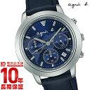 アニエスベー agnesb サム クロノグラフ FCRT981 メンズ腕時計 時計