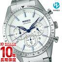 セイコー ワイアード SEIKO WIRED AGAT403 メンズ 腕時計 ホワイト 福士蒼汰イメージキャラクター #129372【あす楽】【きょうつく】