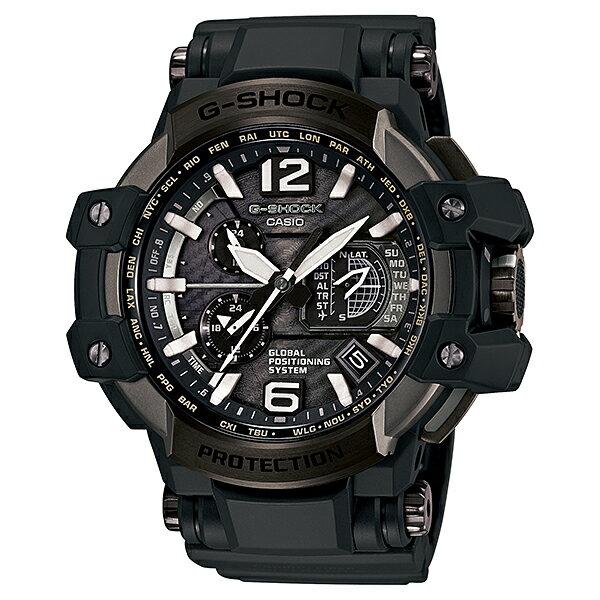 【ショッピングローン12回金利0%】カシオ Gショック G-SHOCK スカイコックピット ソーラー GPW-1000T-1AJF [正規品] メンズ 腕時計 時計(予約受付中) [10年保証付][ギフト用ラッピング袋付]【機能の】