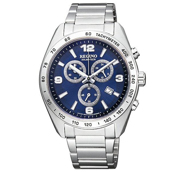 【ポイント10倍】シチズン レグノ REGUNO ソーラー KL1-410-71 [国内正規品] メンズ 腕時計 時計 [10年長期保証付][送料無料][腕時計ケア用品 マルチクロス付][ギフト用ラッピング袋付][P_10]
