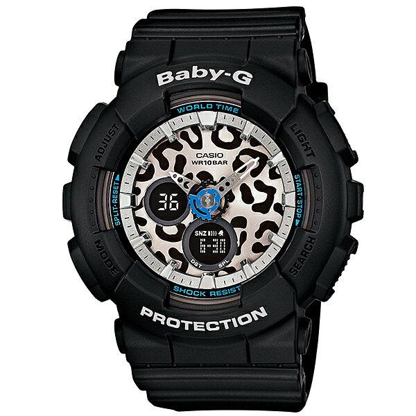 カシオ ベビーG BABY-G レオパード BA-120LP-1AJF [国内正規品] レディース 腕時計 時計 [10年長期保証付][送料無料][ギフト用ラッピング袋付]