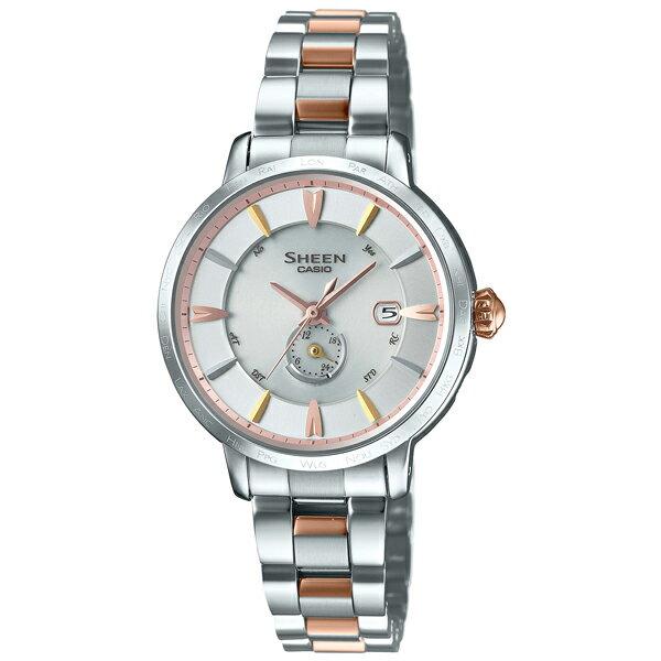 カシオ シーン SHEEN ボヤージュ ソーラー電波 SHW-1800BSG-7AJF [国内正規品] レディース 腕時計 時計(予約受付中) [10年長期保証付][送料無料][ギフト用ラッピング袋付]