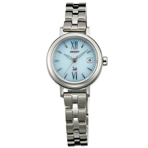 オリエント ORIENT イオ NATURAL&PLAIN ソーラー ライトブルー WI0071WG [正規品] レディース 腕時計 時計 [10年保証付][ギフト用ラッピング袋付]