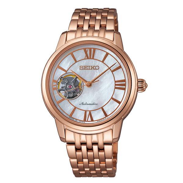 【ショッピングローン12回金利0%】セイコー プレザージュ PRESAGE 100m防水 機械式(自動巻き) SRRY024 [国内正規品] レディース 腕時計 時計 [10年長期保証付][送料無料][腕時計ケア用品 マルチクロス付][ギフト用ラッピング袋付]