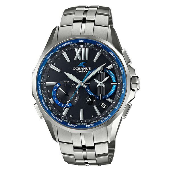 【ショッピングローン12回金利0%】カシオ オシアナス OCEANUS マンタ ソーラー電波 OCWS34001AJF [正規品] メンズ 腕時計 時計(予約受付中) [10年保証付][ギフト用ラッピング袋付]