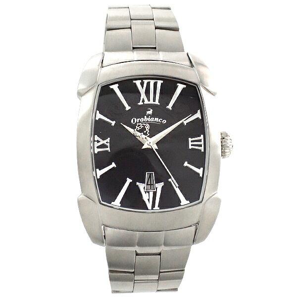オロビアンコ Orobianco タイムオラ レッタンゴラ DIESEL メタル OR-0012-23 [正規品] ニクソン メンズ 腕時計 CITIZEN 時計:腕時計本舗 [10年保証付][腕時計ケア用品 マルチクロス付][ギフト用ラッピング袋付][メッセージカード付]