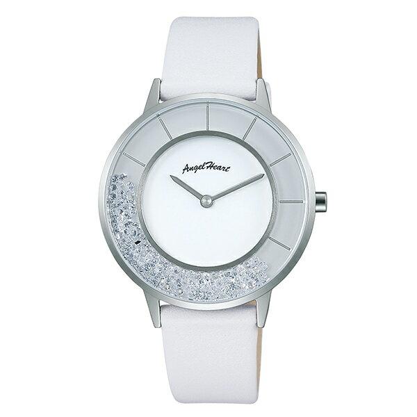 【ポイント11倍】エンジェルハート AngelHeart ラブグリッター 替えバンド2本付 限定1000本 ジルコニア LG36S-WH [国内正規品] レディース 腕時計 時計 [10年長期保証付][送料無料][ギフト用ラッピング袋付][P_10]
