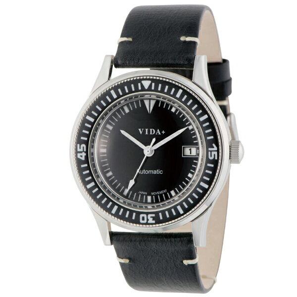 ヴィーダプラス VIDA+ ヘリテージ 45920 LE-BK [正規品] メンズ&レディース 腕時計 時計 [ギフト用ラッピング袋付]