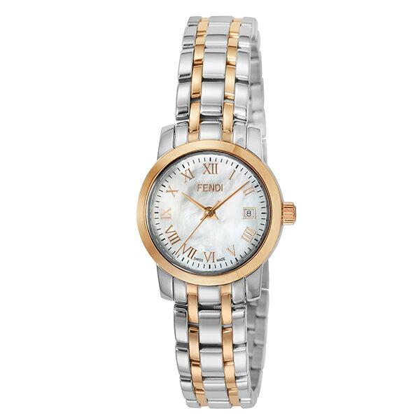【ショッピングローン12回金利0%】【新作】フェンディ FENDI ラウンドクラシコ F217240 [海外輸入品] レディース 腕時計 時計 [送料無料][ギフト用ラッピング袋付][P_10]