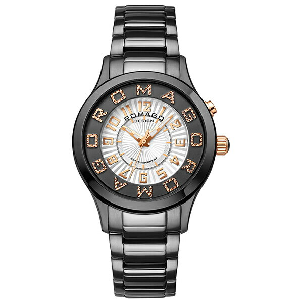 ロマゴデザイン ROMAGODESIGN ATTRACTION アトラクション RM067-0162SS-BKRG [正規品] メンズ&レディース 腕時計 時計 [P_10]