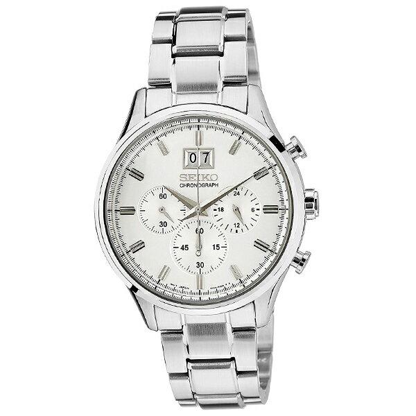 【新作】セイコー 逆輸入モデル クロノグラフ  CHRONOGRAPH  SPC079P1 [海外輸入品] メンズ 腕時計 時計 [3年長期保証付][送料無料][ギフト用ラッピング袋付][P_10]