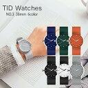ティッドウォッチ TID Watches No.3 TID03-BK/BK [正
