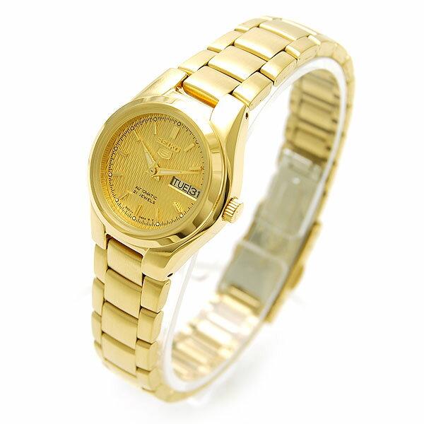 セイコー5 逆輸入モデル SEIKO5 ダイアカットダイアル 機械式(自動巻き/手巻き) SYMC18K [海外輸入品] レディース 腕時計 時計 [3年長期保証付][送料無料][ギフト用ラッピング袋付][P_10]