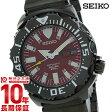 セイコー SEIKO 自動巻 ダイバーズ 当店限定モデル SZEN007 メンズ 腕時計 レッド #28910【きょうつく】
