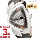 【あす楽】ハミルトン ベンチュラ オートマチック レザー ブラウン メンズ H24515591【楽ギフ包装】【楽ギフのし】【腕時計】【時計】(hamilton 革ベルト プレゼント