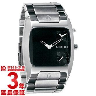 Nixon NIXON banks BLACK A060-000 men's watch watches