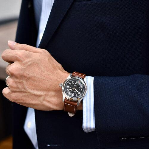 【腕時計】ハミルトンHAMILTONH70455533#7354【ミリタリー】