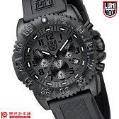 ルミノックス LUMINOX ネイビーシールズ カラーマーク シリーズ ブラックアウト ミリタリー 3081.BO メンズ腕時計 時計【あす楽】
