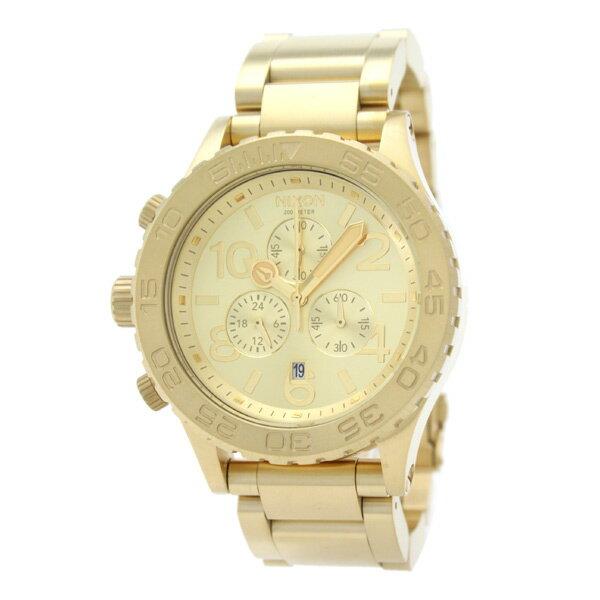 【ショッピングローン12回金利0%】ニクソン NIXON THE42-20 クロノグラフ A037502 [海外輸入品] メンズ&レディース 腕時計 時計 [3年長期保証付][送料無料][ギフト用ラッピング袋付][P_10]