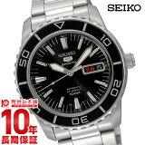 【ポイント10倍】セイコー 逆輸入モデル SEIKO セイコー5(ファイブ)スポーツ 100m防水 機械式(自動巻き) SNZH55J1(SNZH55JC) [国内正規品] メンズ 腕時計 時計
