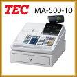 東芝テックレジスターMA-500-10【ホワイト・ブラック】ロール紙5巻サービスMA-660の下位モデル