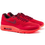 NIKE ナイキ Air Max 1 Ultra Moire メンズ スニーカー Gym Red | University Red 705297-600 限定完売モデル 海外取寄せ あす楽