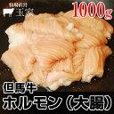 神戸牛のルーツ黒毛和牛◎但馬牛 ホルモン(大腸) 1,000g(冷蔵) 国産 牛肉 てっちゃん シマ