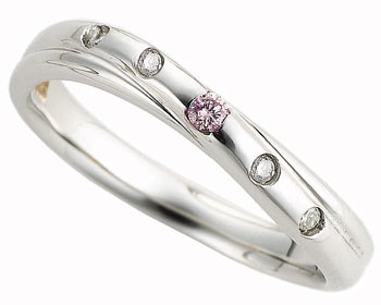 ピンクドルフィン結婚指輪 4-Lady's ピンクドルフィン結婚指輪 4-Men's