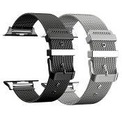 Apple Watch用 ミラネーゼブレス アップルウォッチ 金属 ステンレス 交換ベルト