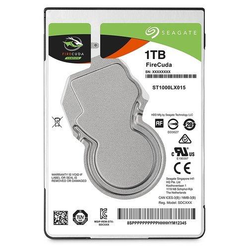 FireCuda 25 2.5inch SATA 6Gb/s NCQ 500GB 64MB 5400rpm SSD(8GB MLC)+HDDハイブリッド(7mm) ST500LX025