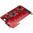 ラズベリーパイ/Raspberry Pi用USB - M.2 SATA変換基板 ラズパイ電子工作/開発ボード PIB2M21