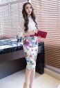 タイトスカート 花柄 ハイウエストスカート 花柄スカート 姫系スカート 夏 新作 着やせ パーティー ひざ丈 ミドル丈 スーツスカート お嬢様 セクシー ミニスカート OL 上品 オフィスレディー w223 二次会 結婚式 6,000円以上 送料無料10P03Dec16