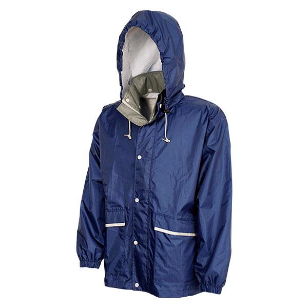 透湿レインスーツ Z2300 ネイビーLLの商品画像