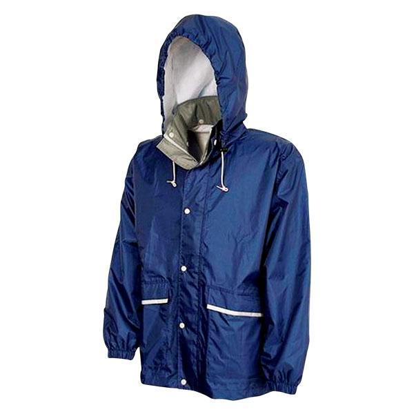 透湿レインスーツ Z2300 ネイビーLLの紹介画像3