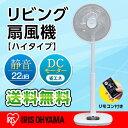 アイリスオーヤマ 扇風機 リビング扇風機 超微風モード付 タイマー付 リモコン付 リズム風付 風量12段階 ハイタイプ DCモーター LFD-305H LFD−305H アイリスオーヤマ