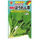 【キャッシュレス5%還元】 春まきほうれん草ストロング 春野菜の種