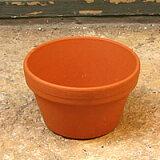 ドイツ製テラコッタミニ陶器鉢(SAG10-0)