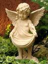 【同梱不可】天使 エンジェル と 小鳥 バードバス(P-7704-140)【送料計算対象外】