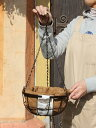 (WBR01-25)吊り鉢 ココナツ ハンギングバスケット