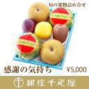 銀座千疋屋特選 【感謝の気持ち】季節の果物詰合せ ランキングお取り寄せ