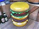 アメリカン ユニーク スツール イーッス ハンバーガー