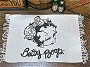 ベティ・ブープ アメリカン雑貨 Betty Boop ベティーブープ ベティーちゃん グッズ フロアマット ラグ カーペット B アメリカンキャラクター ベティちゃん-HS0111