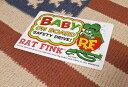 アメリカン雑貨★RatFink Baby On Board Sticker カー用品 ステッカー 車用-HS0439