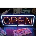 アメリカン雑貨★ネオンサイン 照明 OPEN L ネオン看板-SE0026