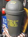 【最大60%OFFタイムセール開催中】アメリカン雑貨★AMERICAN DUST BIN 45L ARMY 大きい ゴミ箱 DUST BOX-SE0161