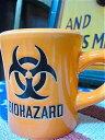 【最大70%OFFタイムセール開催中】アメリカン雑貨 ミリタリー グッズ マグカップ キッチン グラス BIO HAZARD-AR0026
