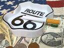 アメリカン雑貨 ROUTE66 グッズ 灰皿 アッシュトレイ ロードサインシェイプ ルート66-HS0166